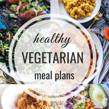 Healthy Vegetarian Meal Plan – Week 119