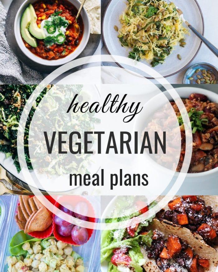 Healthy Vegetarian Meal Plan – Week 120