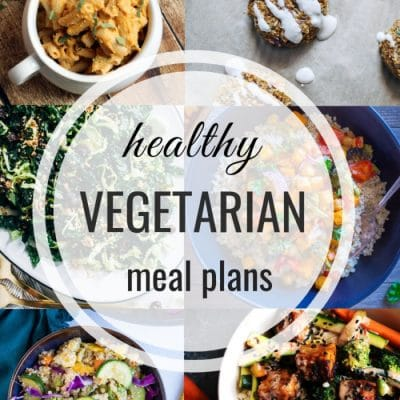 Healthy Vegetarian Meal Plan – Week 121