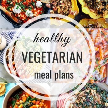 Healthy Vegetarian Meal Plan – Week 118