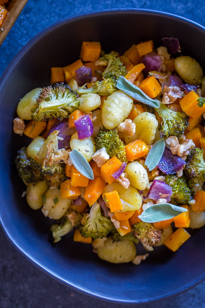 Sheet Pan Roasted Gnocchi, Butternut Squash and Broccoli