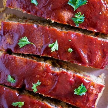 Easy Vegan Meatloaf with Lentils and Chickpeas
