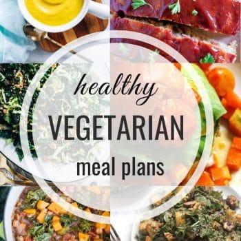 Healthy Vegetarian Meal Plan – Week 124
