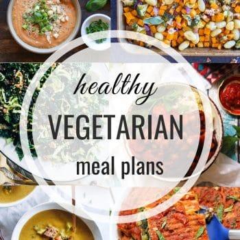 Healthy Vegetarian Meal Plan – Week 125