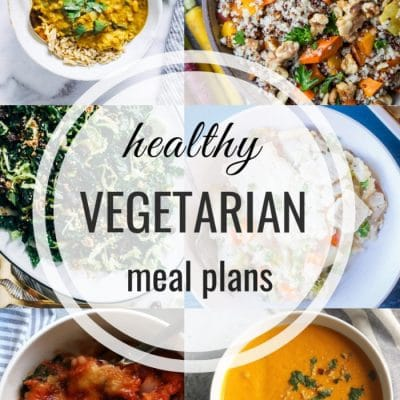 Healthy Vegetarian Meal Plan – Week 122