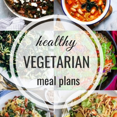 Healthy Vegetarian Meal Plan – Week 126