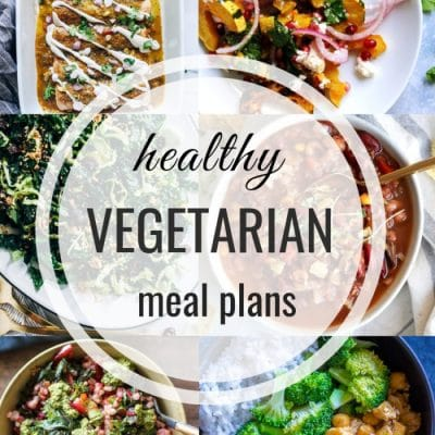 Healthy Vegetarian Meal Plan – Week 123