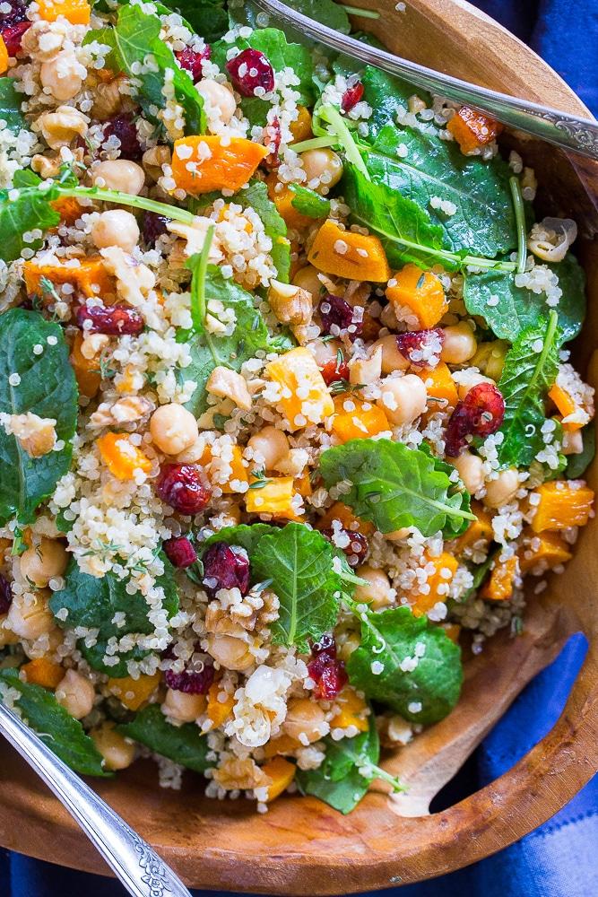Bowl of Winter Quinoa Salad