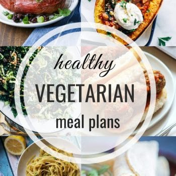 Healthy Vegetarian Meal Plan – Week 127