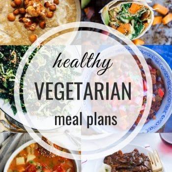 Healthy Vegetarian Meal Plan – 128