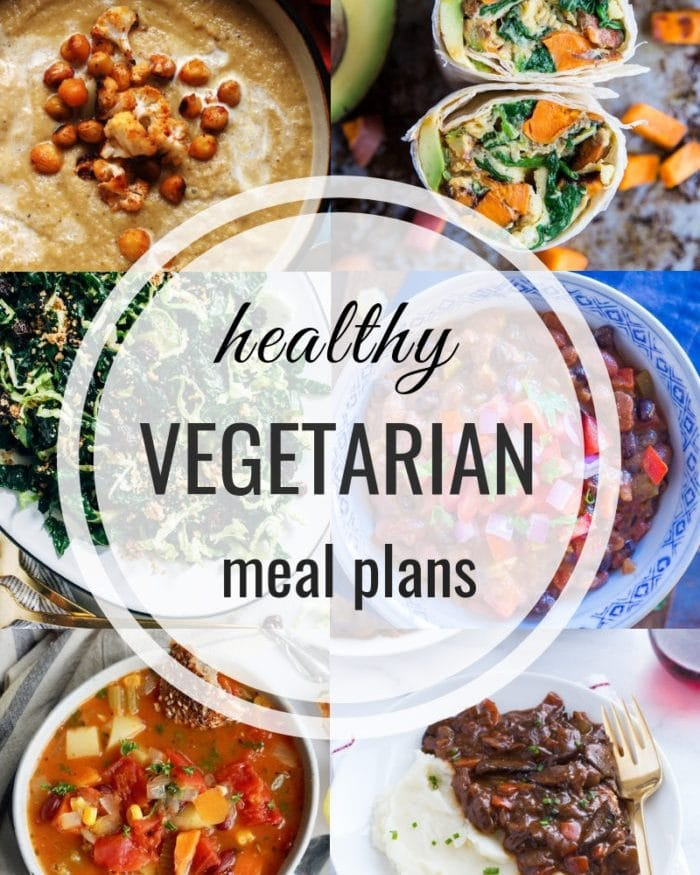 Healthy Vegetarian Meal Plan – 128