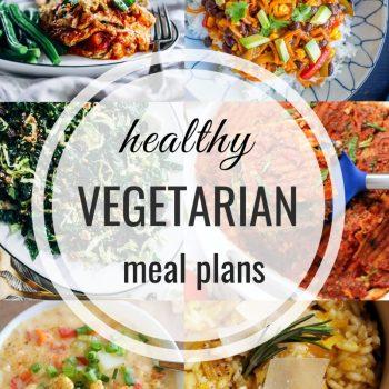 Healthy Vegetarian Meal Plan – Week 129