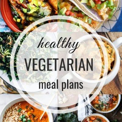 Healthy Vegetarian Meal Plan – Week 130