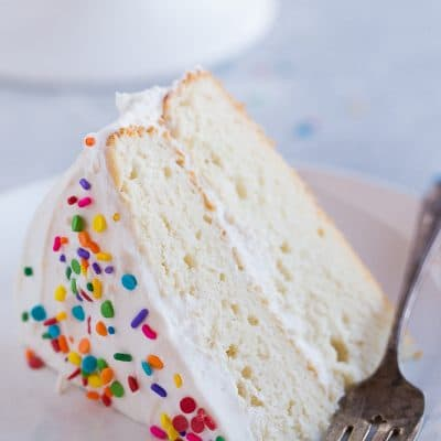 The Best Gluten Free White Cake