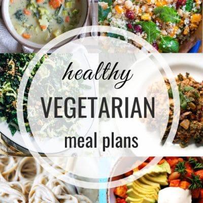 Healthy Vegetarian Meal Plan -Week 131