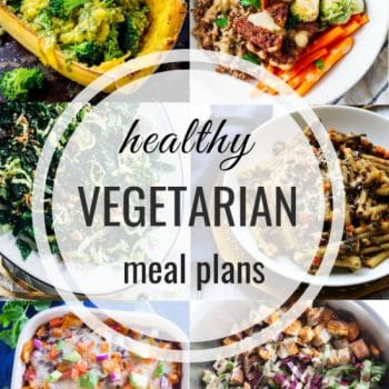 Healthy Vegetarian Meal Plan – Week 132