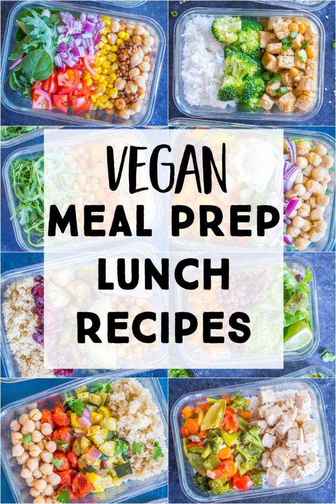 Vegan Meal Prep Recipes Roundup Photo