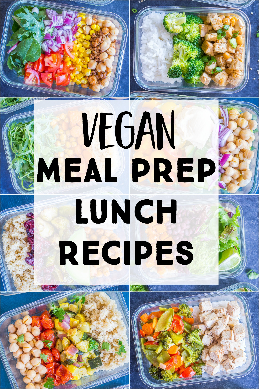 Wonderbaarlijk 16 Vegan Meal Prep Recipes {Lunch} - She Likes Food JU-52