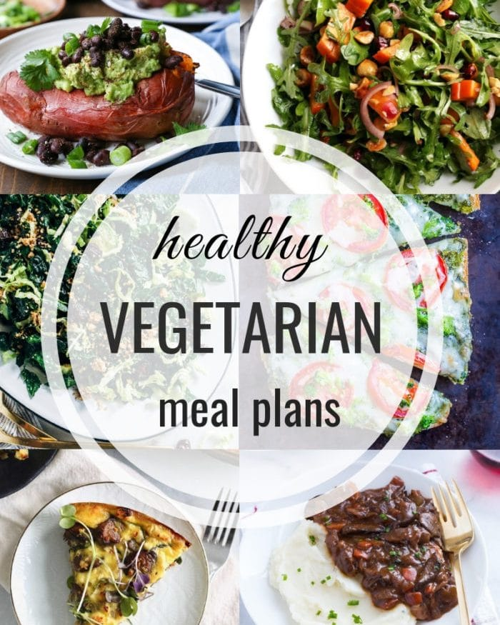 Healthy Vegetarian Meal Plan – Week 136
