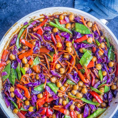 Clean Out The Refrigerator Vegetarian Stir Fry Recipe
