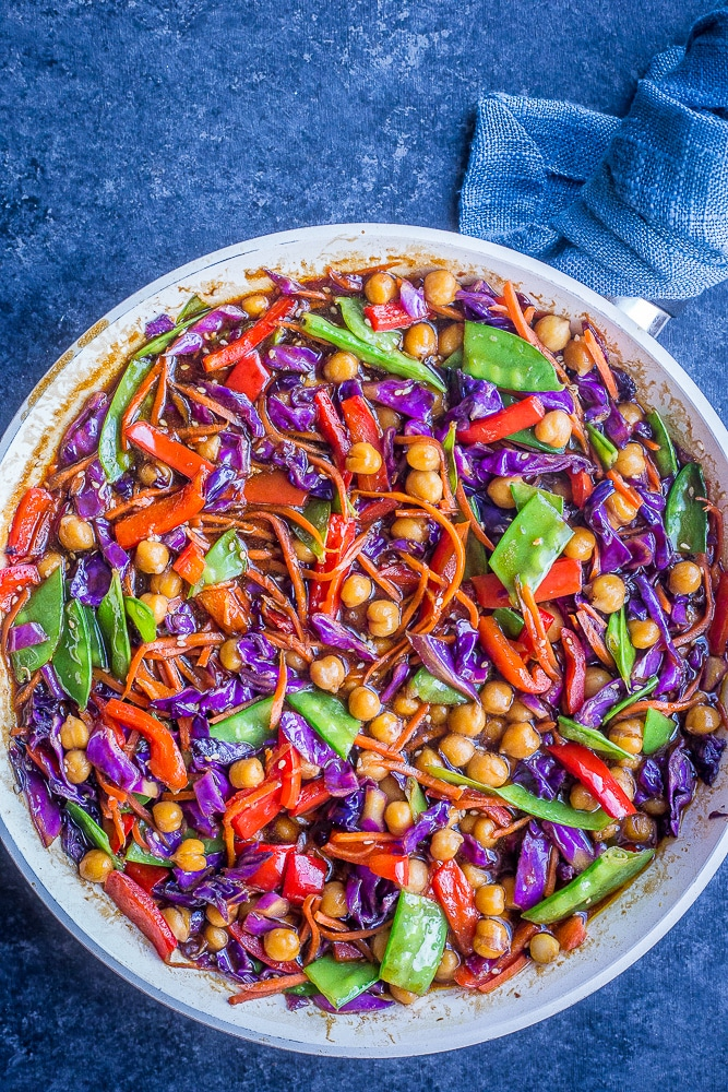Clean Out The Refrigerator Vegetarian Stir Fry Recipe She Likes Food