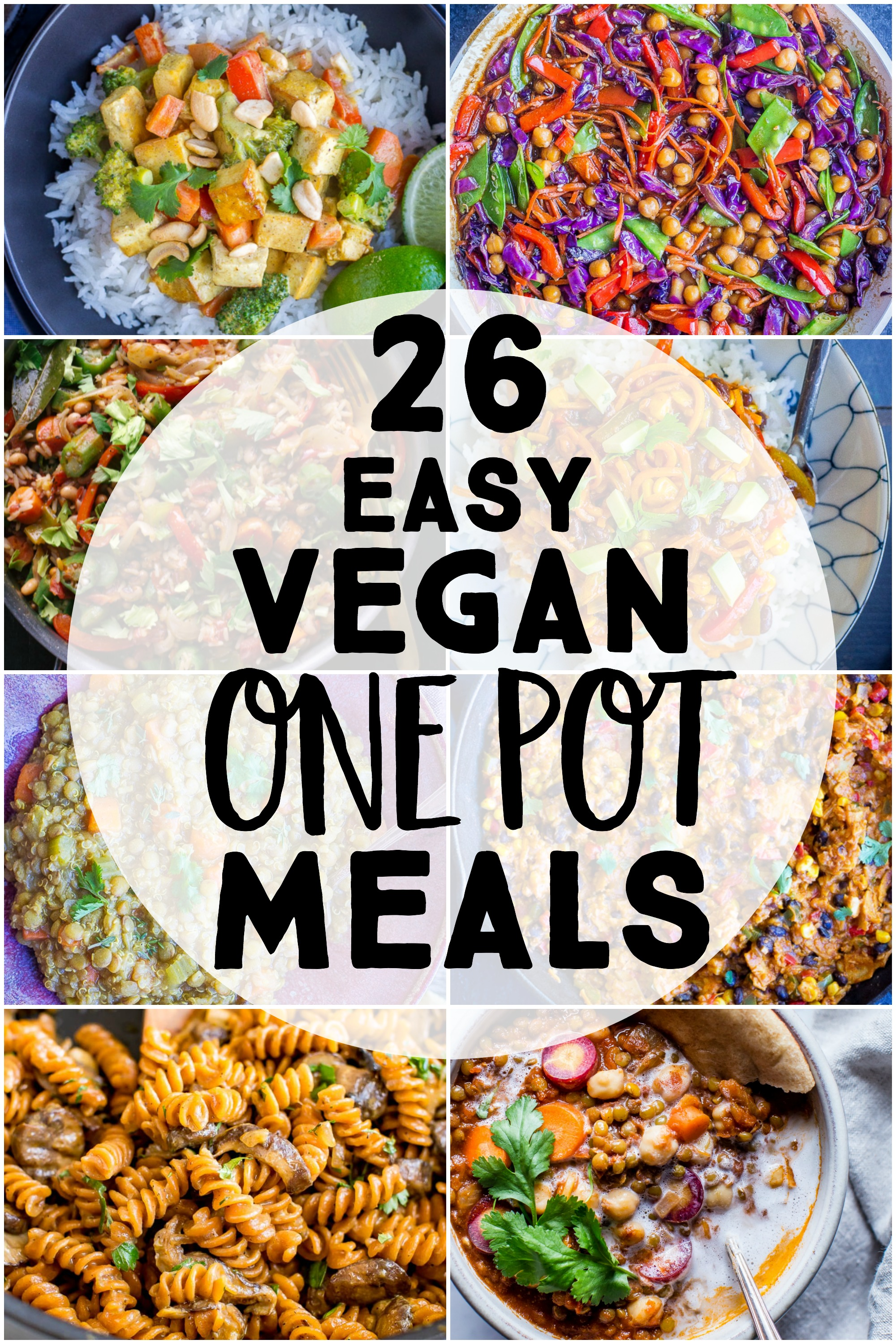 26 Easy Vegan One Pot Meals She Likes Food