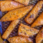 Pinterest long pin for Ranch Roasted Carrots