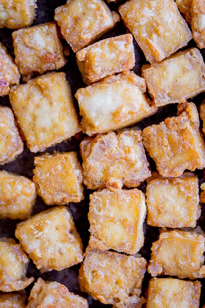 The Best Crispy Tofu Baked She Likes Food