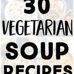 pinterest long pin for vegetarian soup recipes
